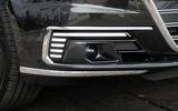 Audi A8 60 TFSIe 2020 UK first drive review - foglights