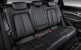 Audi E-tron 2019 official reveal rear seats