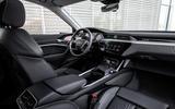 Audi E-tron quattro 2018 first drive review - cabin