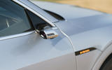Audi E-tron Sportback 55 2020 UK first drive review - wing mirror cameras