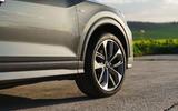 Audi Q2 35 TFSI Sport 2020 UK first drive review - alloy wheels