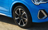 Audi Q3 Sportback 2019 UK first drive review - alloy wheels