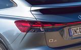 6 Audi Q4 E Tron Sportback 2021 UK FD rear lights