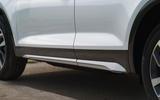 Audi Q5 40 TDI Sport 2020 UK first drive review - side skirts