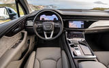 Audi Q7 2019 first drive review - dashboard