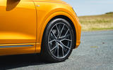 Audi Q8 50 TDI Quattro S-Line 2018 UK first drive alloy wheels