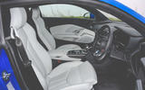 Audi R8 2019 UK first drive review - cabin