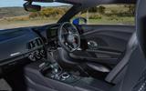 Audi R8 RWS 2018 UK review cabin