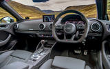 Audi RS3 Sportback 2019 UK first drive review - steering wheel
