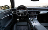 Audi RS6 Avant 2019 first drive review - dashboard