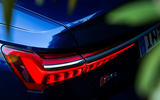 Audi S6 2019 first drive review - rear lights