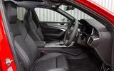 Audi S6 Avant TDI 2019 UK first drive review - cabin