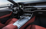 Audi S7 TDI 2019 first drive review - dashboard
