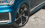 Audi SQ7 2020 first drive review - alloy wheels