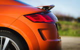 Audi TT Coupe 2019 UK first drive review - rear end