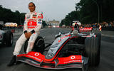 6 Autocar favourite racing drivers Lewis Hamilton nose