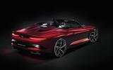Bentley Bacalar Fulton 2020 - static rear