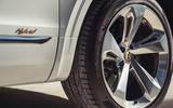 Bentley Bentayga hybrid 2019 first drive review - hybrid badge