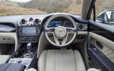 Bentley Bentayga Hybrid 2020 UK first drive review - dashboard