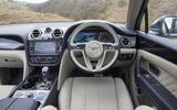 Bentley Bentayga Hybrid 2020 UK first drive review - dashboard