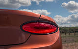 Bentley Continental GT Convertible V8 2020 UK first drive review - rear lights