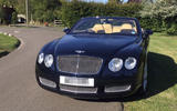 Bentley Continental GTC - static front