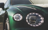 Bentley Flying Spur 2020 UK first drive review - headlight details