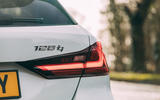 6 BMW 1 Series 128ti 2021 UK first drive review rear badge