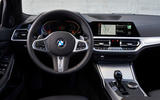 BMW 3 Series 320d Sport Line 2019 first drive review - dashboard