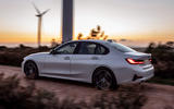 BMW 3 Series 330e hybrid 2019 first drive review - on the road side