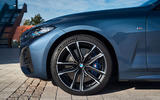 BMW 4 Series 2020 first drive review - alloy wheels