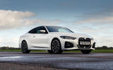 BMW 4 Series 420d 2020 UK first drive review - static front