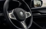 6 BMW 5 Series Touring 530d 2021 UK FD steering wheel
