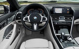 BMW 8 Series Convertible 850i 2019 first drive review - dashboard
