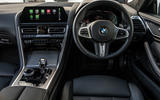 BMW 840d 2019 first drive review - dashboard