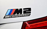 BMW M2 Competition 2018 first drive review rear badge