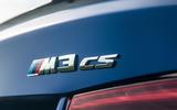 BMW M3 CS 2018 review rear badges