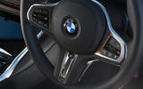 BMW 3 Series Touring M340i 2020 UK first drive review - steering wheel