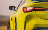 6 BMW M4 2021 UK first drive review rear lights