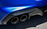 BMW M8 Competition Coupe 2020 UK first drive review - exhaust