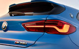 BMW X2 M35i 2019 first drive review - rear lights