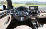 BMW X3 xDrive30e 2020 first drive review - cabin