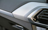 BMW X3 xDrive30e 2020 UK first drive review - interior trim