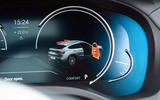 BMW X4 2018 UK first drive review instrument cluster