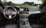 BMW X5 xDrive 45e 2019 UK first drive review - dashboard