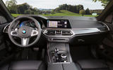BMW X5 xDrive 45e 2019 UK first drive review - dashboard