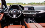 BMW X7 M50i 2020 first drive review - steering wheel