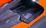 Bugatti Chiron Super Sport 300+ official debut - engine cover