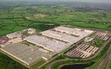 Burnaston factory - aerial view