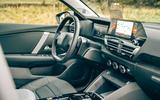 Citroen C4 Puretech 2021 UK (LHD) first drive review - cabin